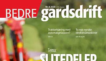 Bedre Gardsdrift 8/2020