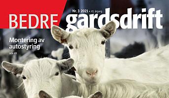 Bedre Gardsdrift 3/2021