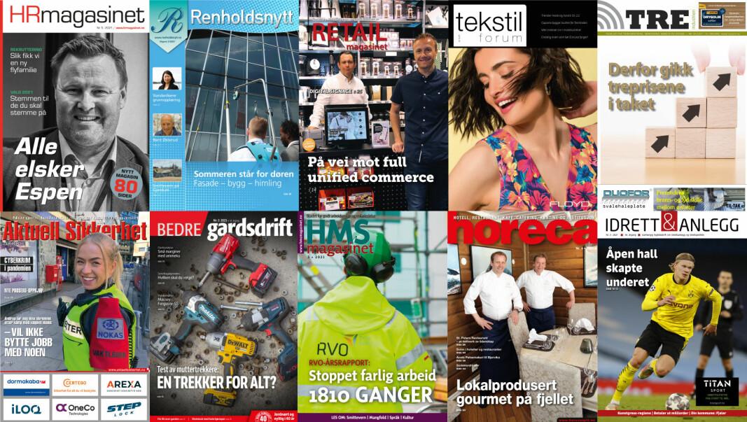 Ask media as er et av Norges ledende fagpresseforlag.Vi produserer og utgir ti fagblader og ti nettsider.